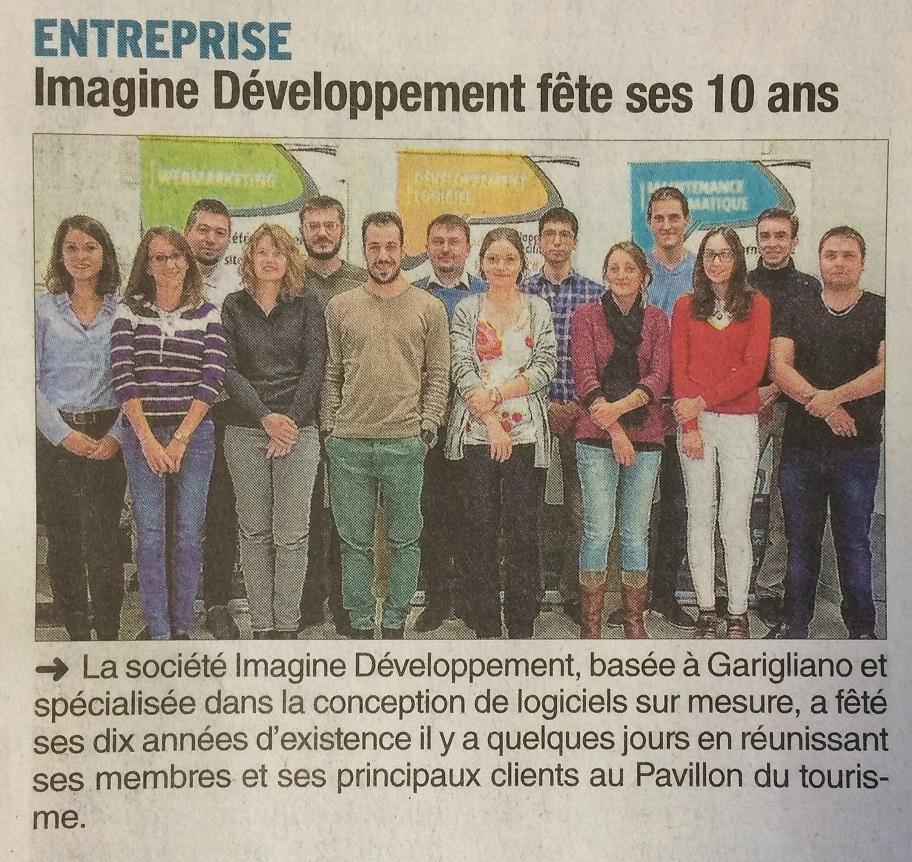 Article Le Dauphiné Libéré 17 octobre 2016